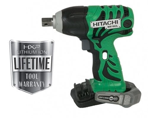 "Hitachi WR18DLP4 18V 1/2"" Impact Wrench (Tool Only) 1"