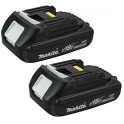 Makita BL1815-2 18V 1.5Ah Compact Lithium-Ion Battery (2-Pack)