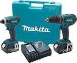 Makita LXT211 18V LXT Lithium-Ion 2-Pc. Combo Kit