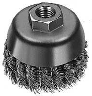 Milwaukee 48-52-1350 Knot Wire Cup Brush 4""