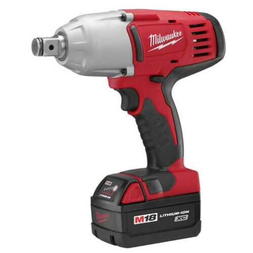 "Milwaukee 2664-22 M18 Cordless 3/4"" High Torque Impact Wrench w/Friction Ring Kit"