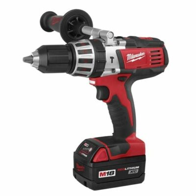 "Milwaukee 2611-24 M18 Cordless LITHIUM-ION High Performance 1/2"" Hammer-Drill Driver"
