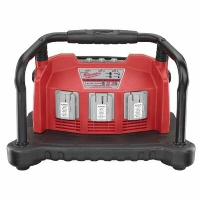 Milwaukee 48-59-0280 Multi-Bay Charger for Slide-On NiCd and V18/V28 Li-ion Batteries