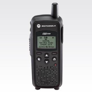 Motorola DTR550 Digital On-Site Portable Radio