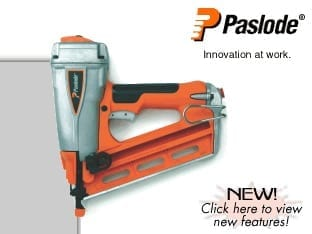 Paslode 500910 16 Gauge Angled Finish Nailer T250A-F16