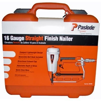 Paslode 501680 16 Gauge Straight Finish Nailer T250S-F16