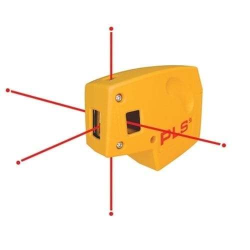 PLS PLS-5 Point-To-Point Alignment Laser Level 1