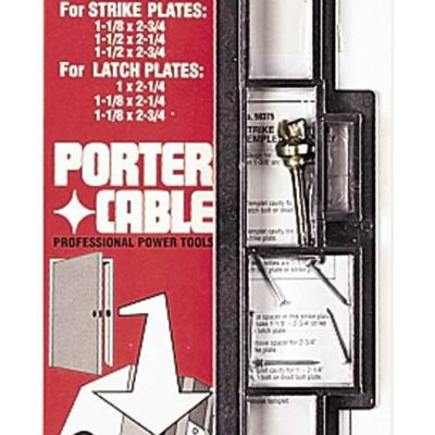 Porter Cable 59375 Strike and Latch Templet