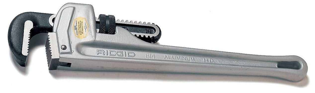 Ridgid 31105 Aluminum Straight Pipe Wrench 24""