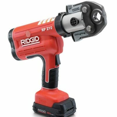 Ridgid 31048 RP210B Compact Cordless Press Tool Kit (No Jaws)