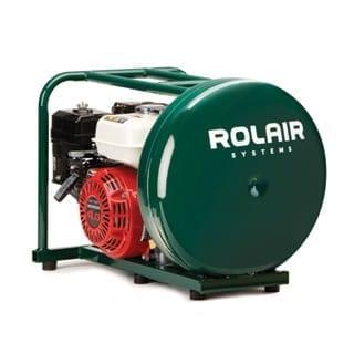 Rol-Air GD4000PV5H 4HP Gas-Powered Direct Drive 4-1/2 Gallon Air Compressor 1