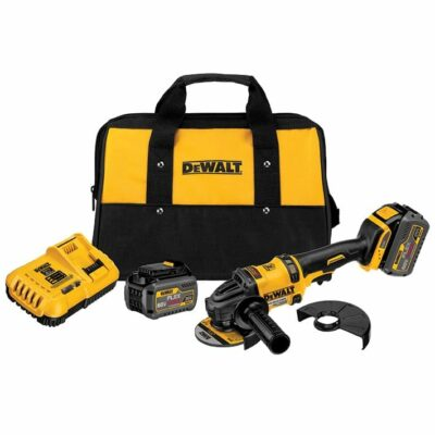 DeWALT DCG414T2 Grinder w/ 2 Batteries Kit