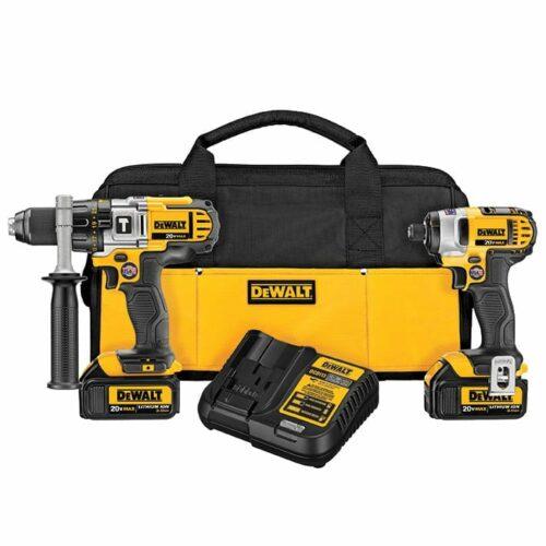 DeWALT DCK290L2 20V MAX Hammer Drill/Impact Combo Kit (3.0 Ah)