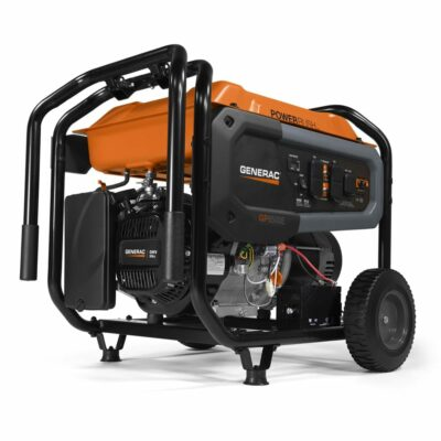 Generac 7682 - GP6500E General Purpose Residential 6,500 Watt Portable Generator