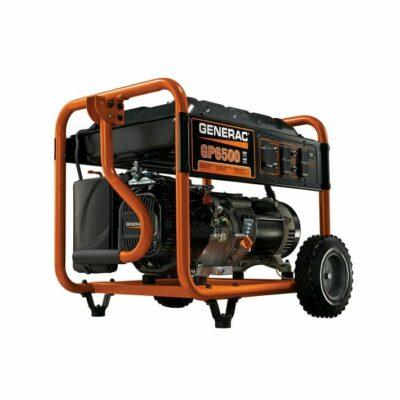 Generac GP6500 General Purpose Residential 6,500 Watt Portable Generator