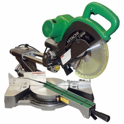 "Hitachi C10FSHPS 10"" Sliding Dual Compound Miter Saw with Laser Marker"