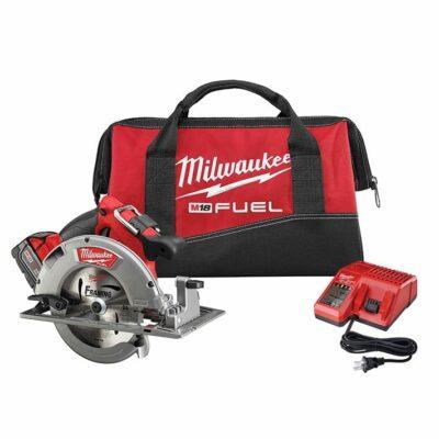 "Milwaukee 2731-21 18V 7-1/4"" Circular Saw Kit"