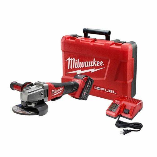 "Milwaukee 2780-21 M18 FUEL™ 4-1/2"" / 5"" Grinder, Paddle Switch No-Lock Kit"