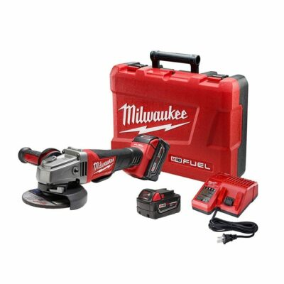 "Milwaukee 2780-22 M18 FUEL™ 4-1/2"" / 5"" Grinder, Paddle Switch No-Lock Kit"