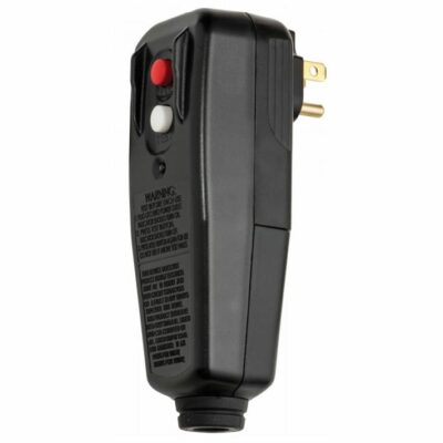 Tower Manufacturing 30434009 User Replaceable GFCI, Male Plug