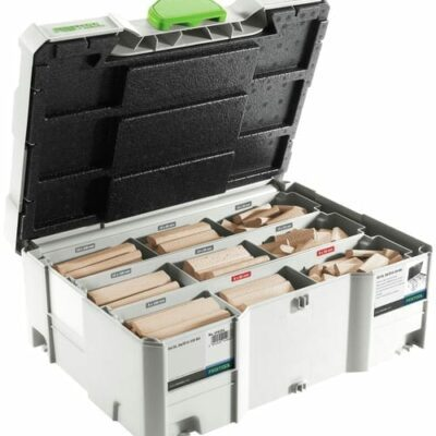 Festool 498204 DOMINO Assortment DS/XL D8/D10 306x BU