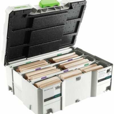 Festool 498205 DOMINO Assortment DS/XL D12/D14 128x BU