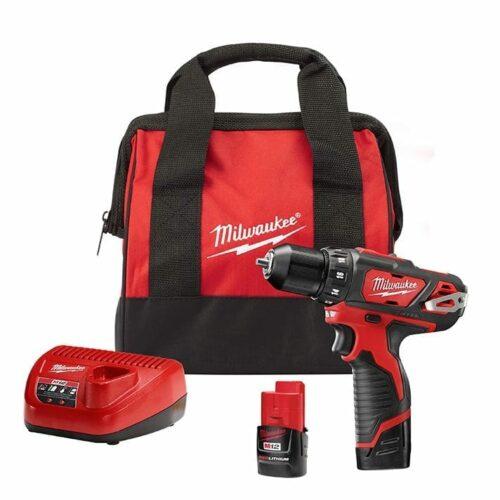 Milwaukee 2407-22 driver/drill kit