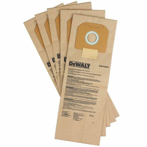 DeWALT DWV9401 Paper Dust Bags for DWV012