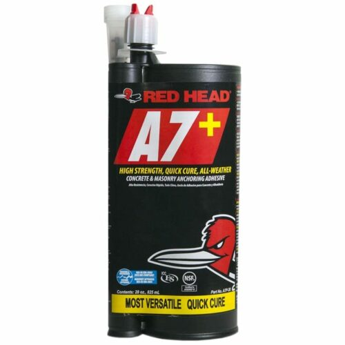 Red Head A7P-28 A7+ Quick Cure Adhesive, 28 Oz.
