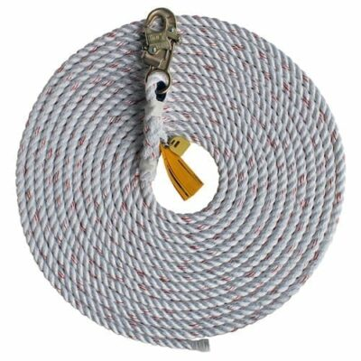 DBI-Sala 1202754 30' Rope Lifeline w/ Snap Hook