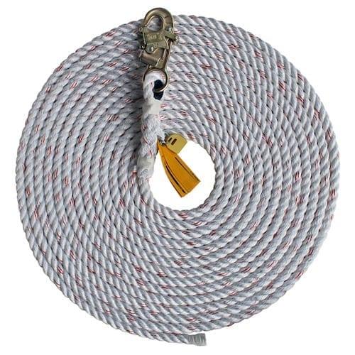 DBI-Sala 1202754 30' Rope Lifeline w/ Snap Hook