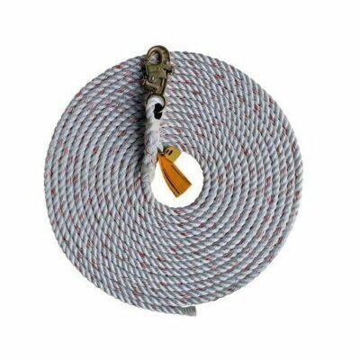 DBI-Sala 1202794 50' Rope Lifeline w/ Snap Hook