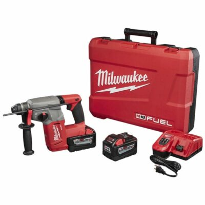 "Milwaukee 2712-22HD M18 FUEL 1"" SDS Plus Rotary Hammer High Demand Kit"