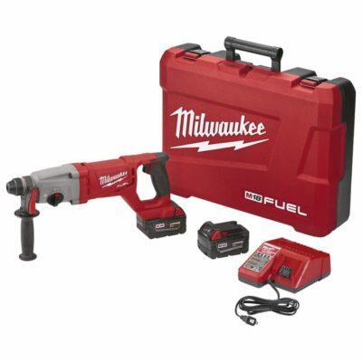 "Milwaukee 2713-22 M18 FUEL 1"" SDS Plus D-Handle Rotary Hammer Kit"