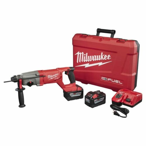 "Milwaukee 2713-22HD M18 FUEL™ 1"" SDS Plus D-Handle Rotary Hammer High Demand ™ Kit 1"