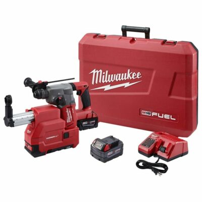 "Milwaukee 2715-22DE M18 FUEL 1-1/8"" SDS Plus Rotary Hammer w/ Dust Extractor Kit"
