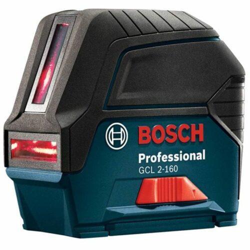 Bosch GCL 2-160 Self-Leveling Cross-Line Laser w Plumb Points 1