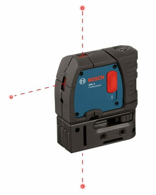 Bosch GPL 3 3-Point Self-Leveling Alignment Laser 1