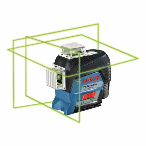 Bosch GLL3-330CG 360° Connected Green-Beam Three-Plane Leveling and Alignment-Line Laser