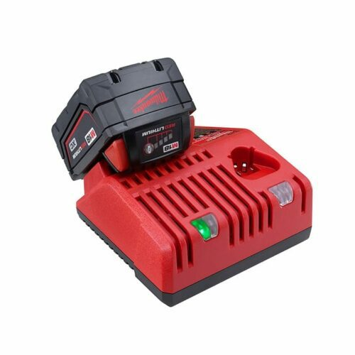 Milwaukee 48-59-1812 M18 & M12 Battery Charger w/ 1 M18 battery