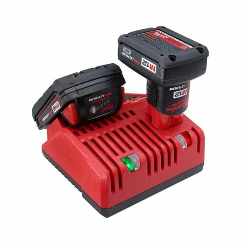 Milwaukee 48-59-1812 M18 & M12 Battery Charger w/ M18 & M12 battery