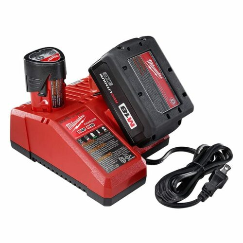 Milwaukee 48-59-1812 M18 & M12 Battery Charger (front view)
