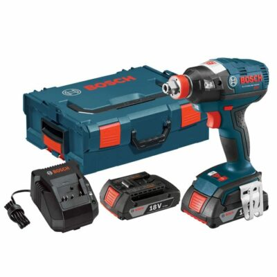 Bosch IDH182-02L 18V EC Brushless 1/4 In. and 1/2 In. Socket-Ready Impact Driver Kit