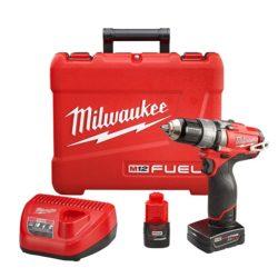 Milwaukee 2404-22 M18 FUEL Hammer Drill Driver Kit