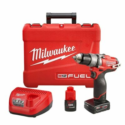 Milwaukee 2404-22 M18 FUEL Hammer Drill Driver Kit