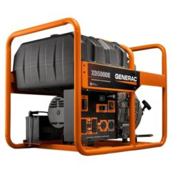Generac 6864 - 5000 Watt Electric Start Diesel Portable Generator, CARB