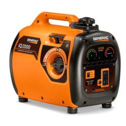 Generac 6866 iQ2000, 2000 Watt Inverter Portable Generator, 50 State/CARB