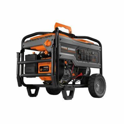 Generac XC8000E 8,000 Watt Portable Generator, Electric Start