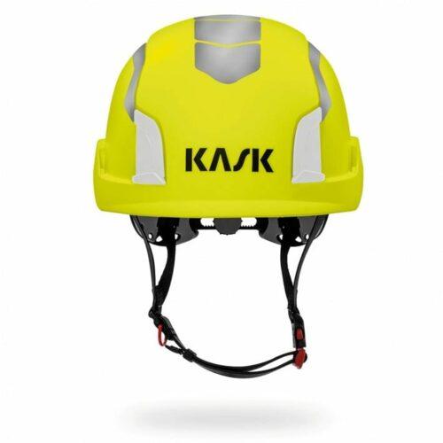 Kask Zenith Hi Viz Dielectric Hard Hat (front view)