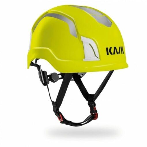 Kask Zenith Dielectric Hard Hat, Hi Viz Yellow